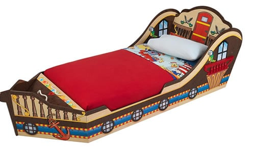 Pirate Ship Bed - toddler beds for boys