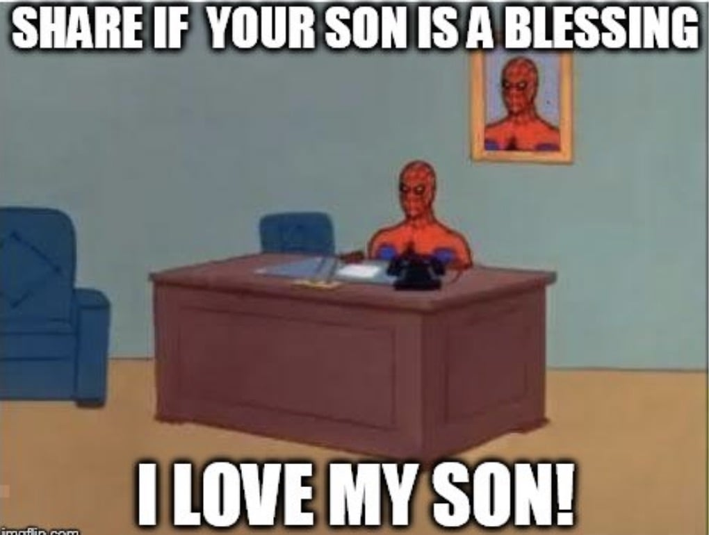 son is a blessing meme