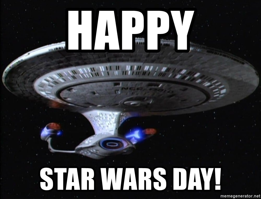 Star Trek Meme About Star Wars Day Memes Funny Star Wars Memes – Perfect For May the Fourth Day / Star Wars Day #starwars #funny #funnypictures #maythe4thbewithyou #maytheforcebewithyou #maythefourthbewithyou #starwarsmemes #jedi #dankmeme #startrek