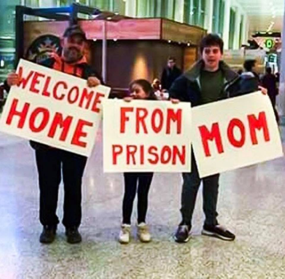 welcome home from prison mom meme