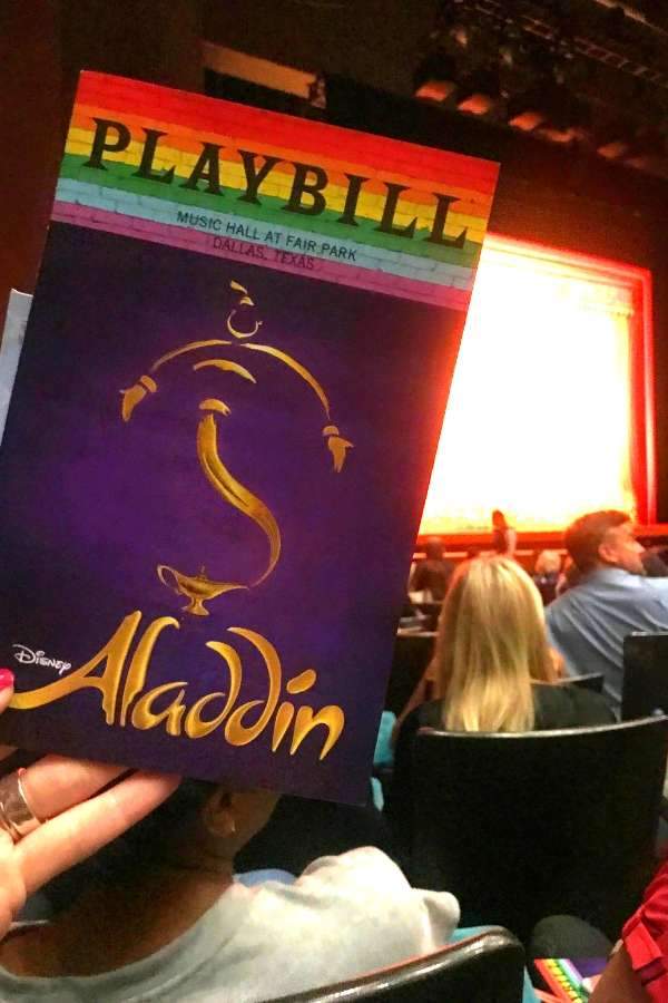 aladdin disney musical dallas tx