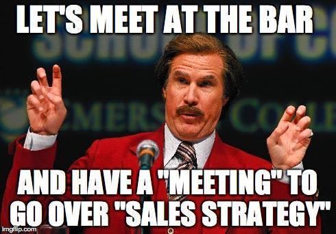bar meeting meme