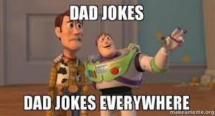 dad jokes everywhere toy story meme