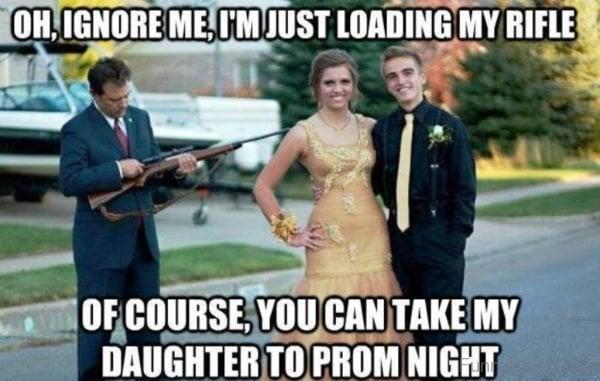 dad riffle dating daughter meme