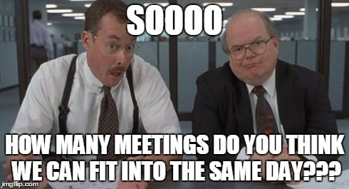 how many meetings in a day