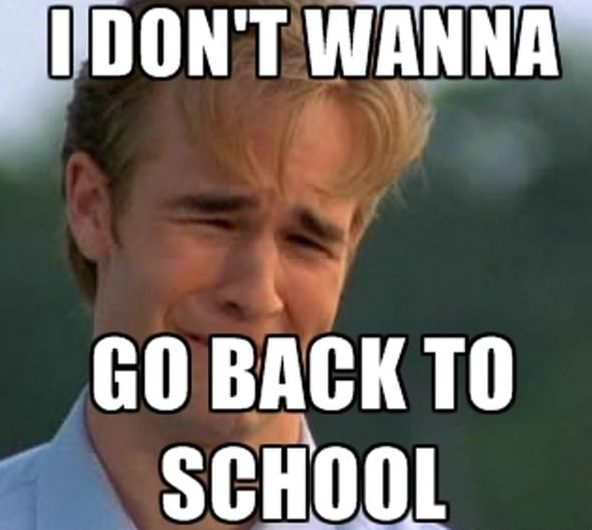 i dont want to go back - funny dawson meme