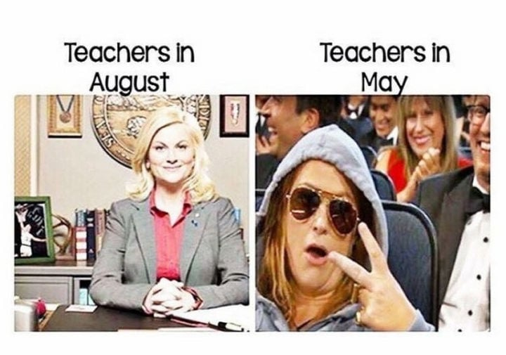 teachers before and after