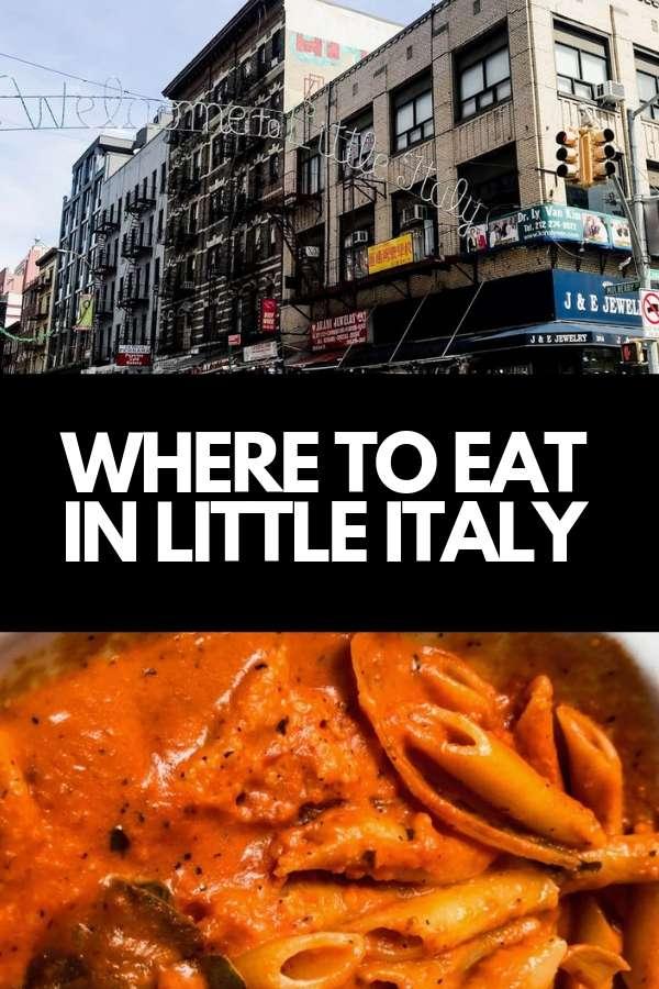 eating little italy new york city travel blog