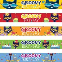Pete the Cat Groovy Birthday Slap Bracelets