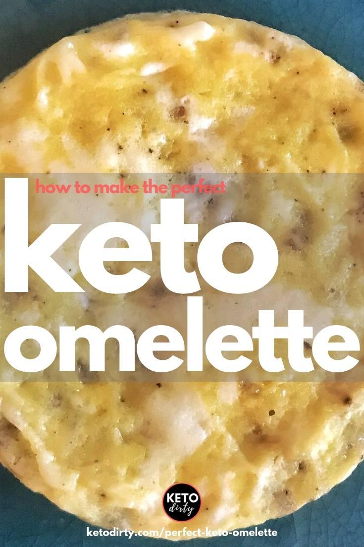 keto omelette made in the dash egg cooker