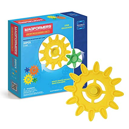Magformers Magnets in Motion Accessory 20-pieces Set