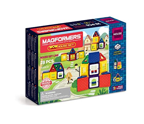 Magformers Wow House 28 Pieces Set