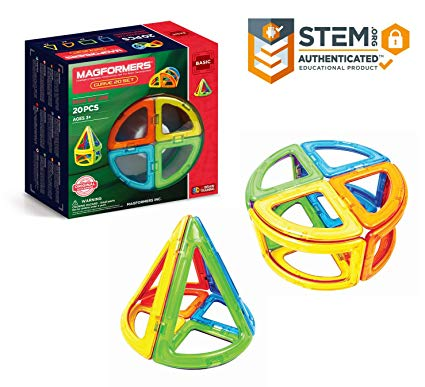 Magformers Curve 20 Pieces Rainbow Colors