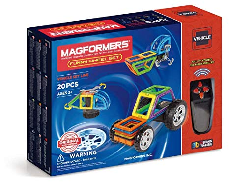 Magformers Funny Wheel - 20-Piece Set