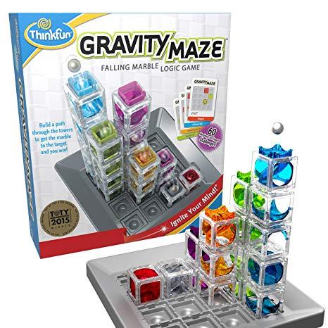 Gravity Maze Marble Run Logic Game
