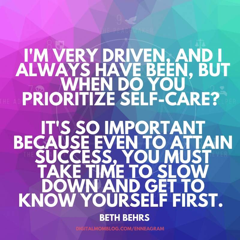 beth behs self care quote