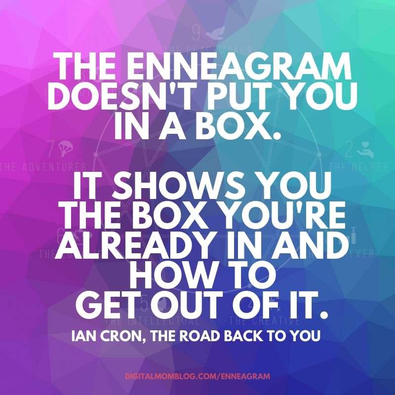 box ian cron – enneagram quotes