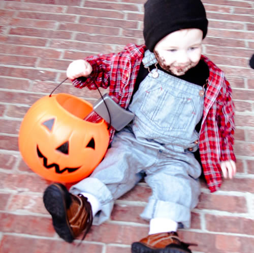 diy lumberjack costume