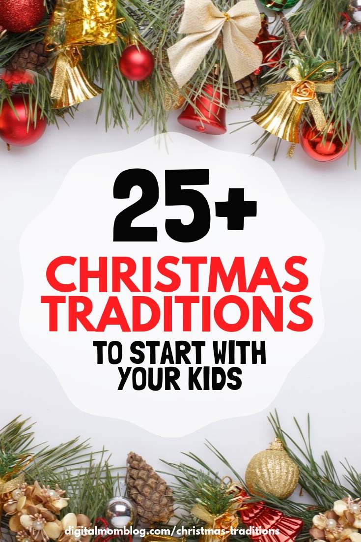 family christmas traditions with kids