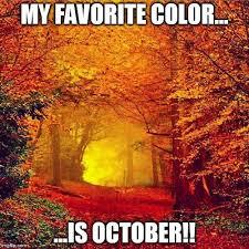 favorite color is october memes