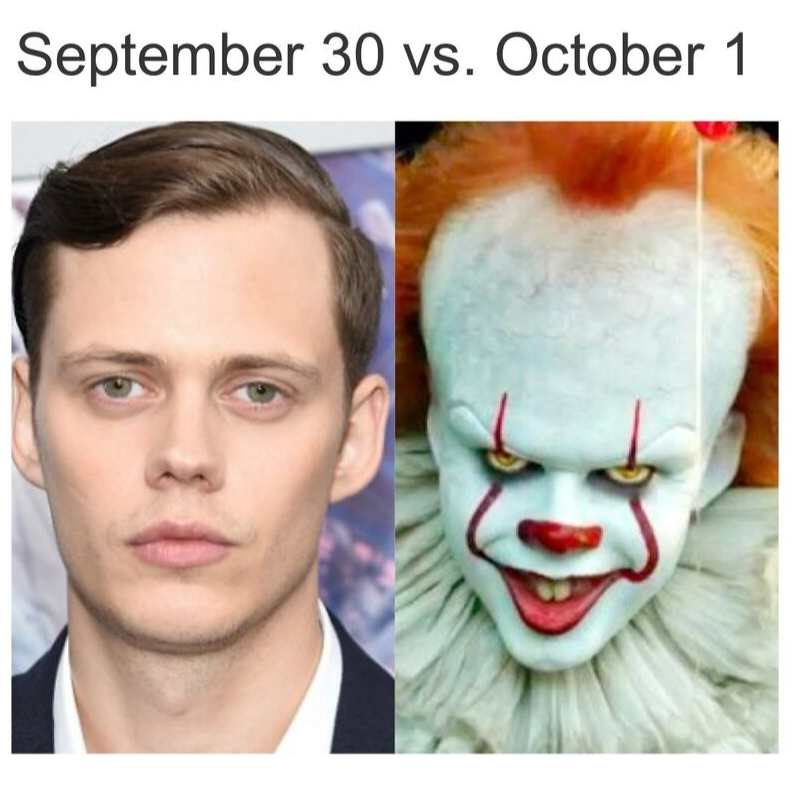it clownn september 30