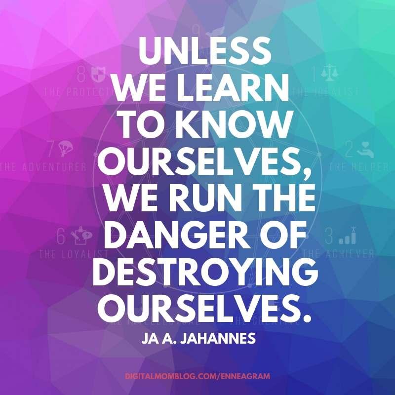 learn ourselves enneagram