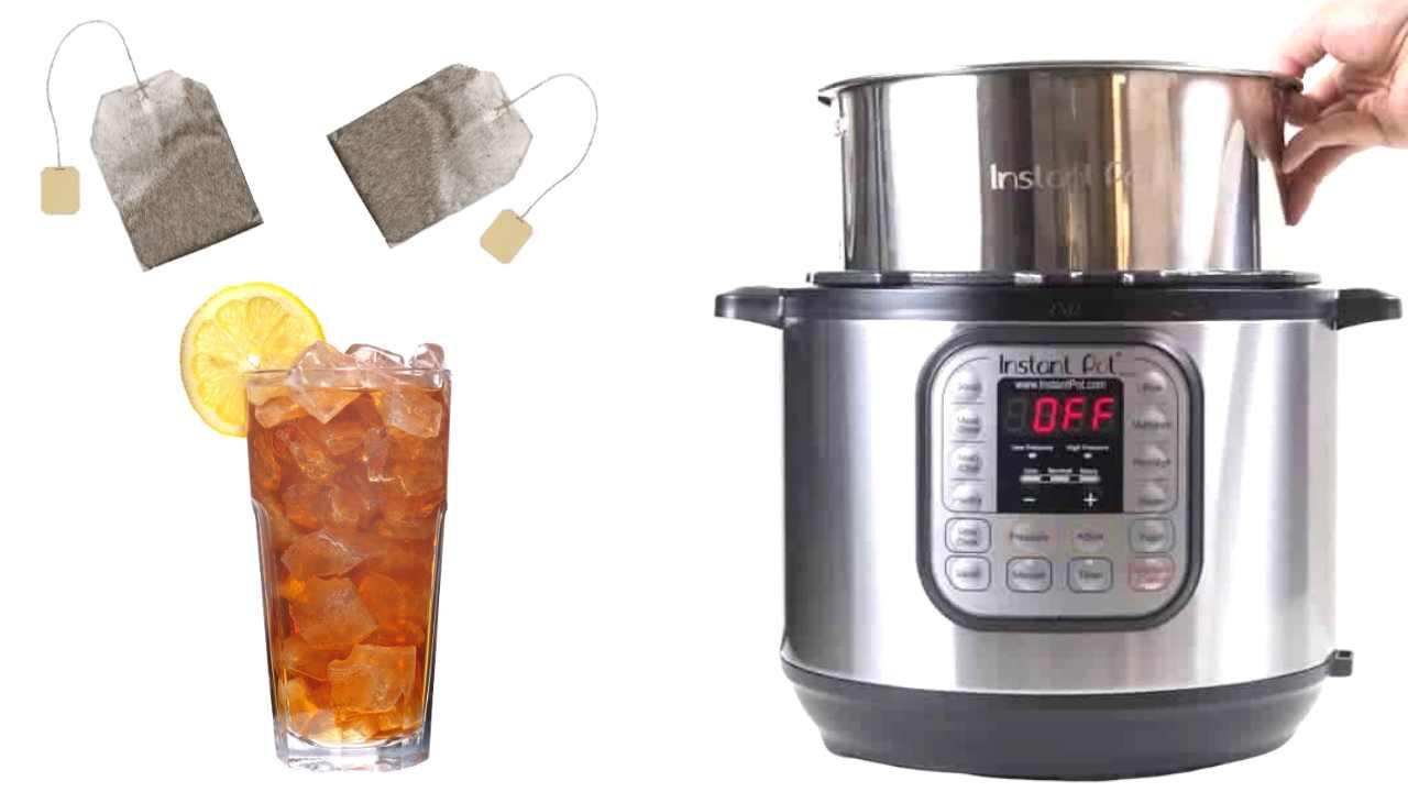 make tea instant pot