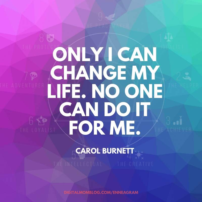 only i can change my life carol burnett quote