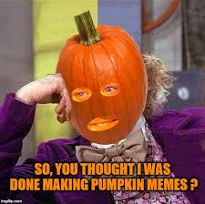 More memes about pumpkins