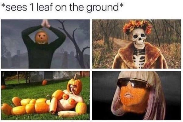 ready for october meme