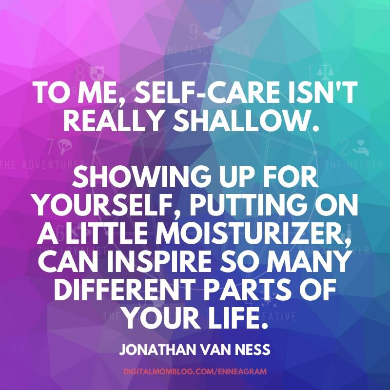 self care isnt shallow