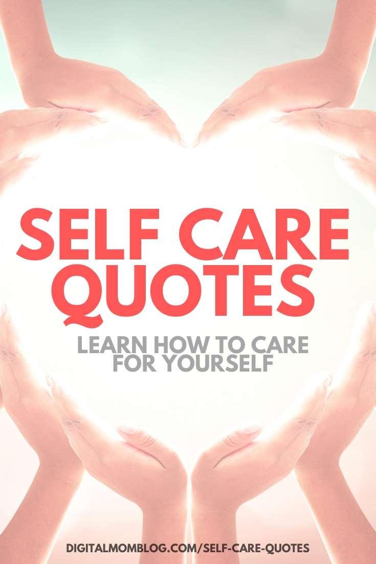 enneagram quotes self care