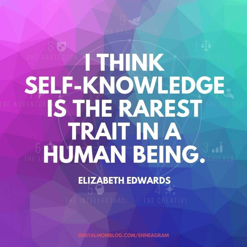 self knowledge enneagram self knowledge quote