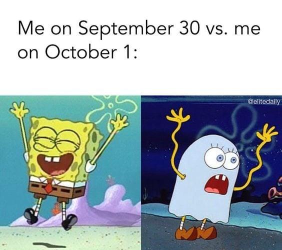 september 30 october 1