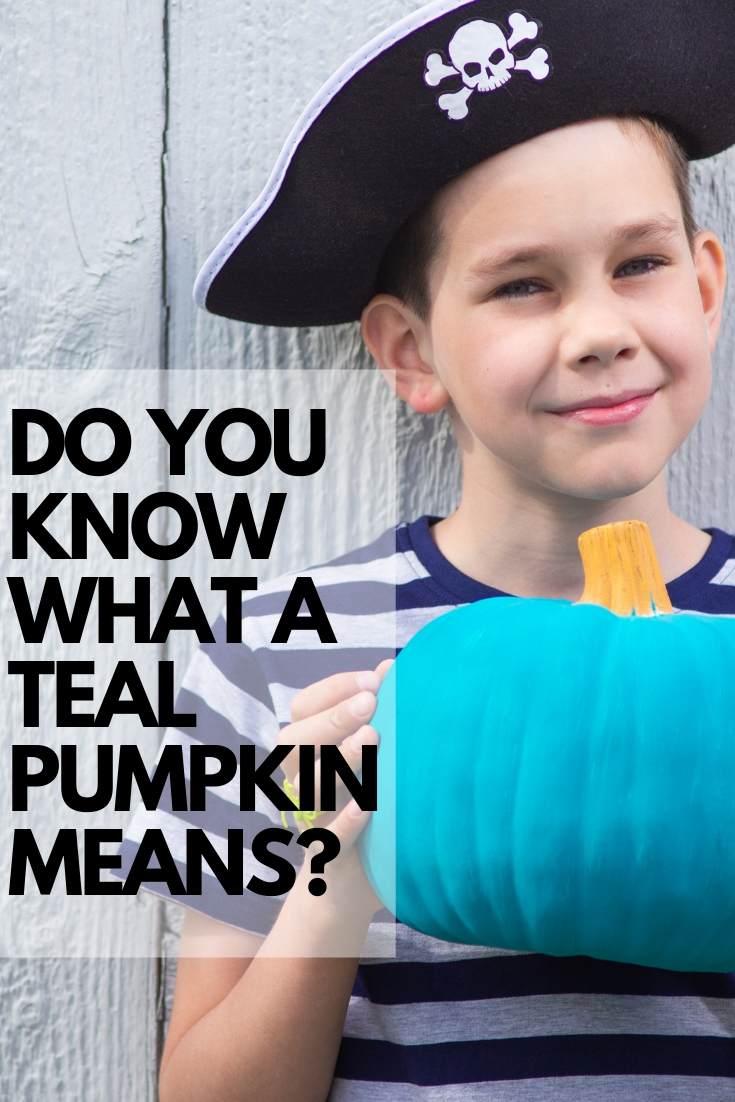 teal pumpkin meaning