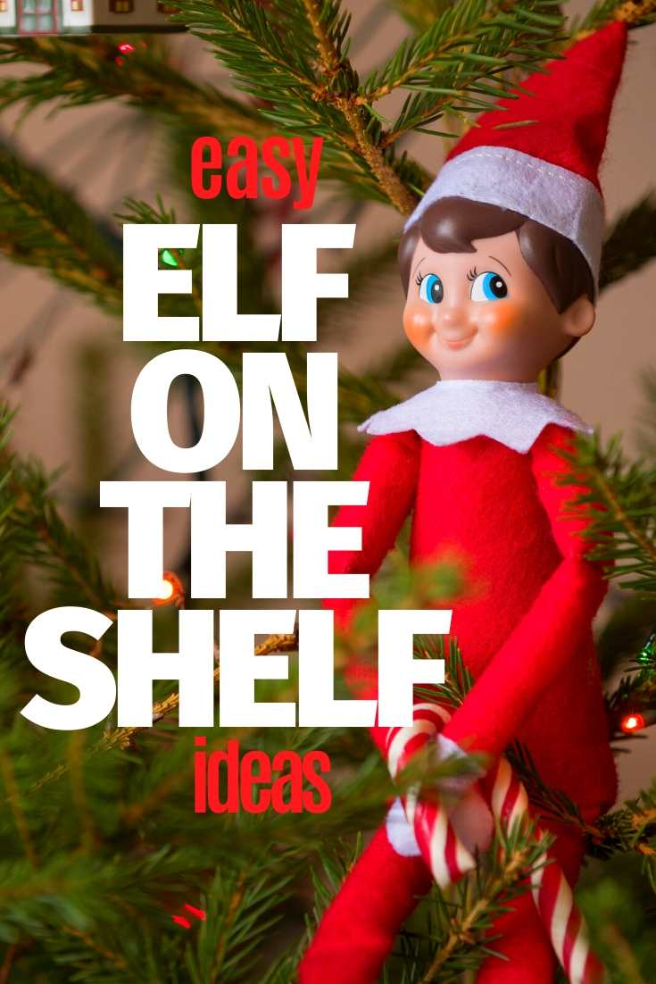 elf on the shelf easy ideas funny