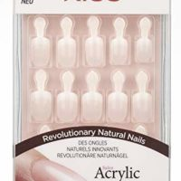 Acrylic Nude French Nails