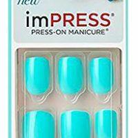 Short Press-On Color Nails