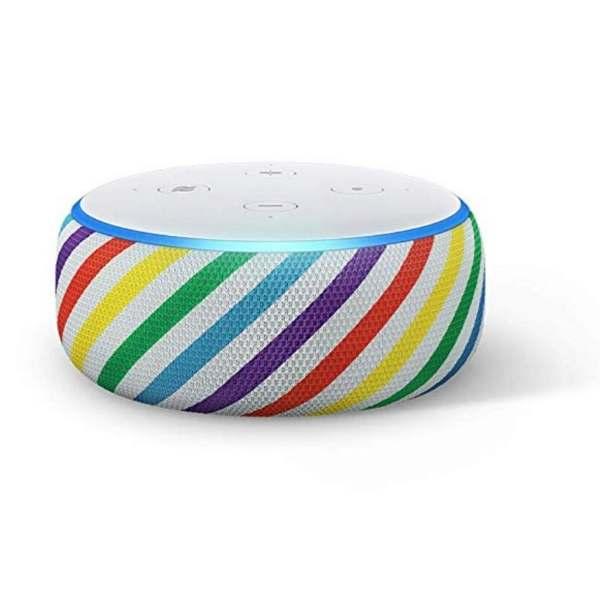 amazon echo dot kids edition rainbow alarm for kids