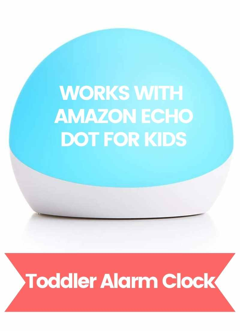 amazon echo glow toddler alarm clocks