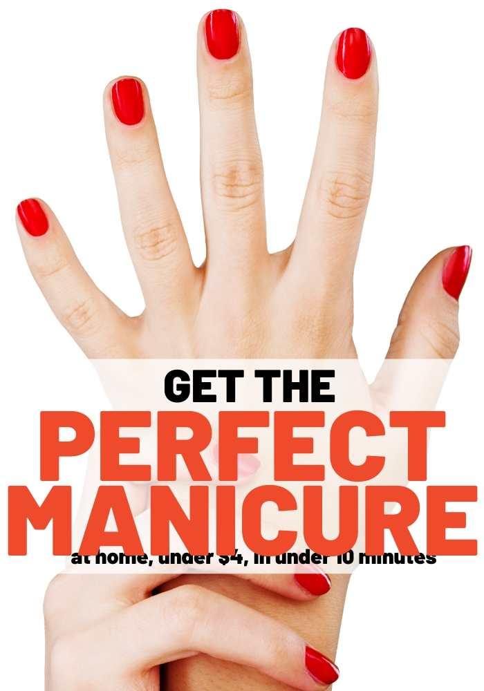 best diy manicure fake nails