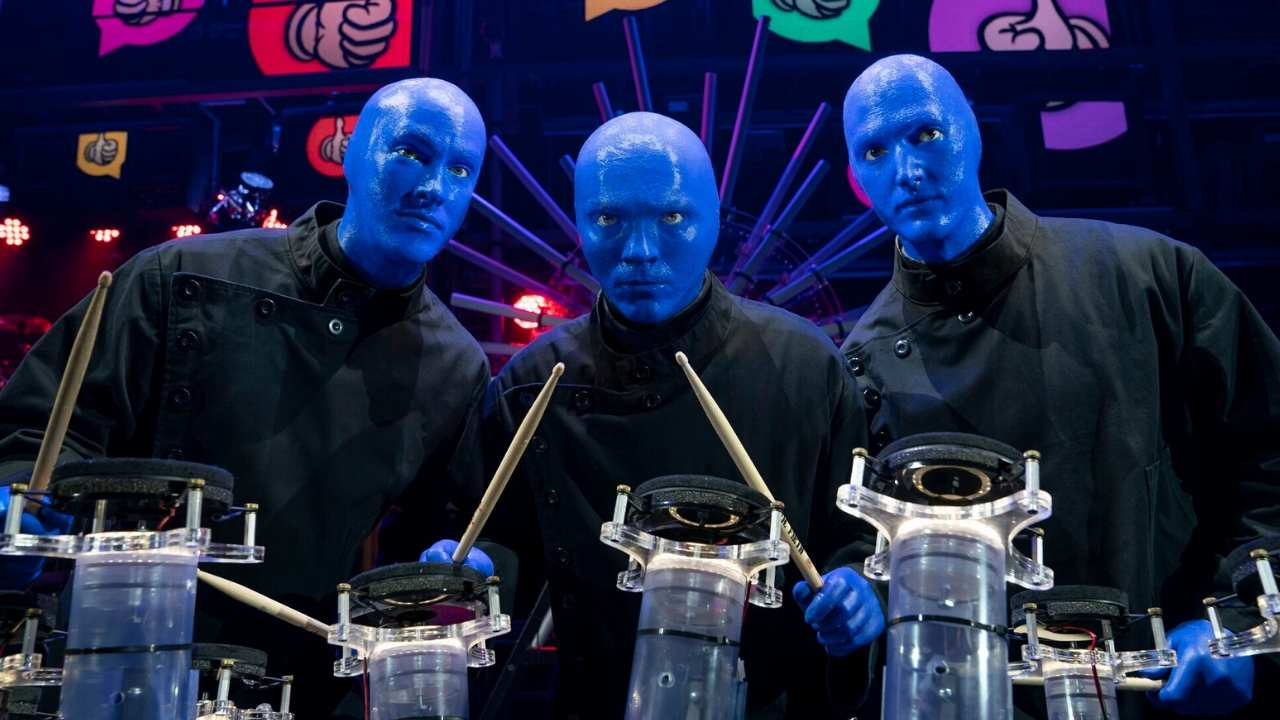 dallas winspear blue man group