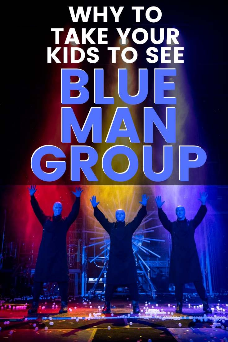 why take kids to see blue man group dallas