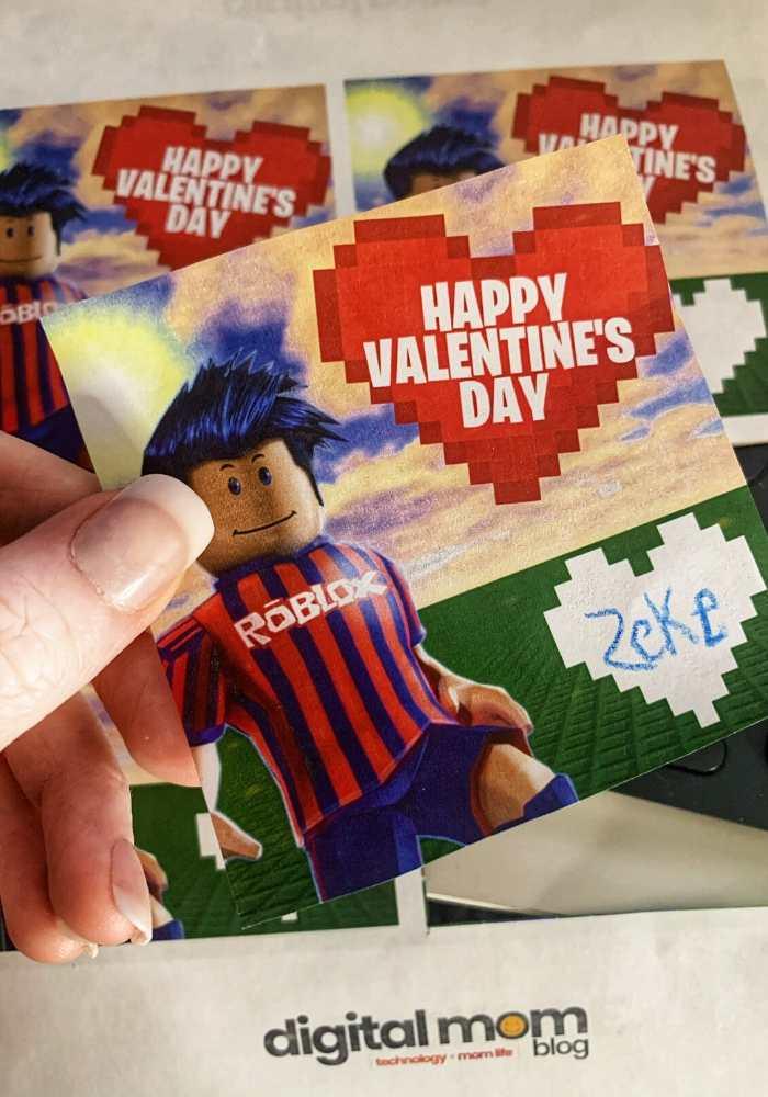 free roblox valentine cards
