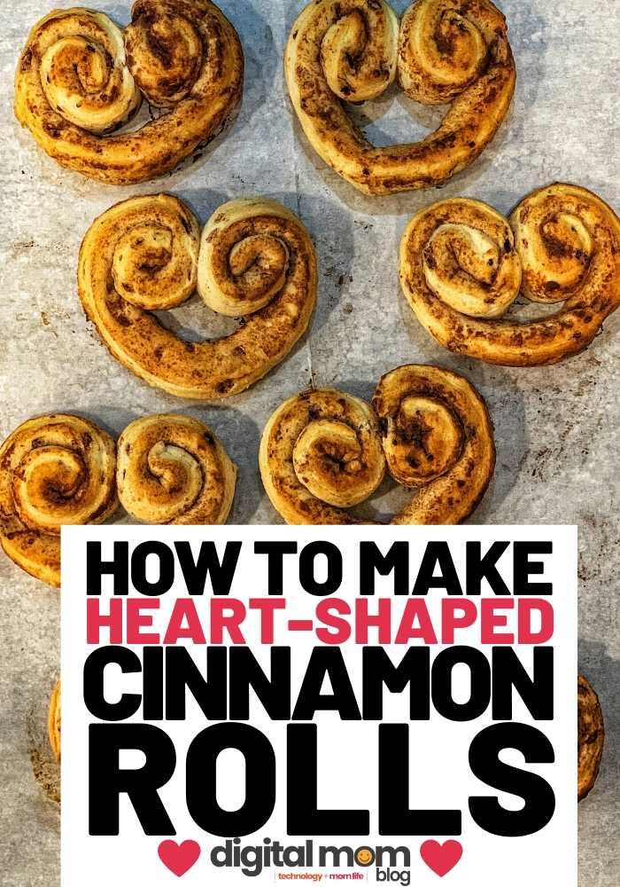 how to make heart shaped cinnamon rolls