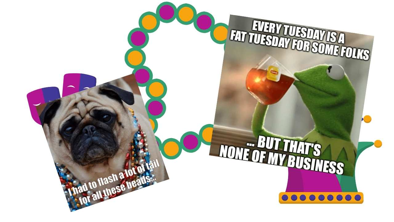 memes about fat tuesday