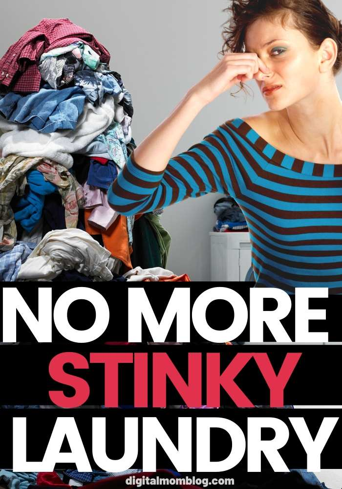 No more stinky laundry - Remove Mildew Smell From Clothes