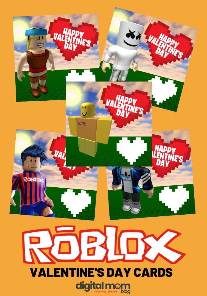 roblox valentines day cards