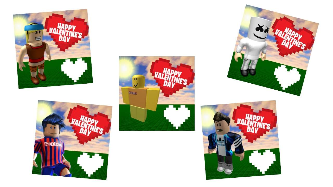 roblox valentines cards