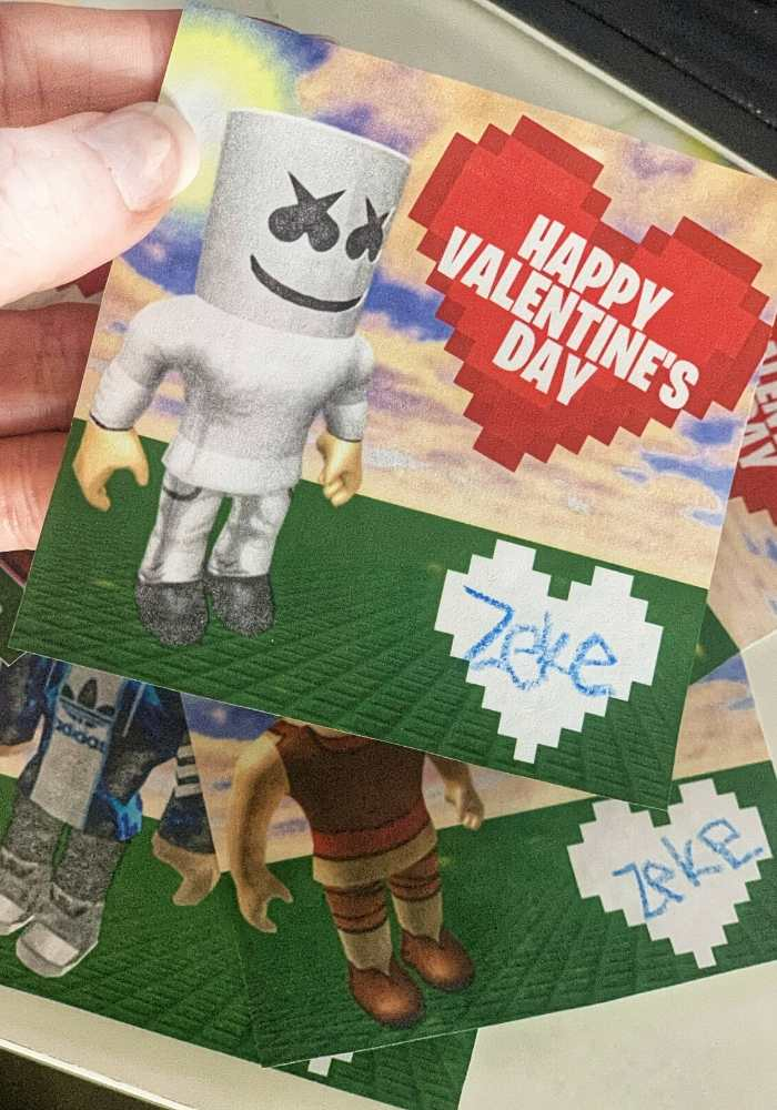 roblox vday cards